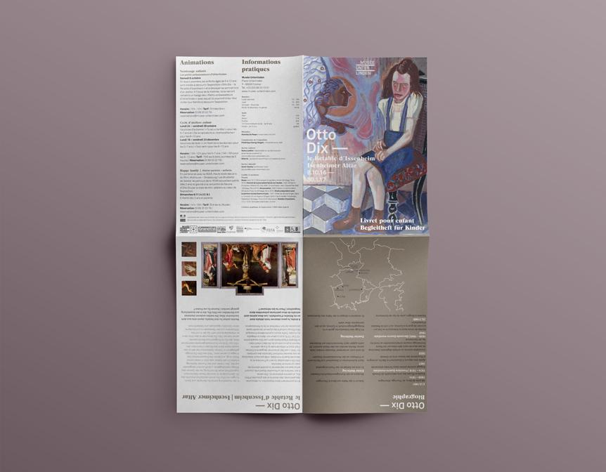 Musée Unterlinden graphisme et mise en page