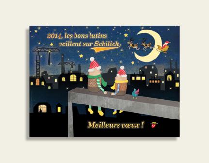 Schiltigheim – illustrations vœux de fin d'année