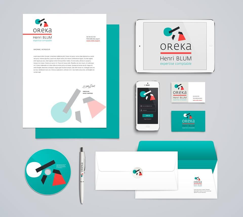 identité visuelle Oreka