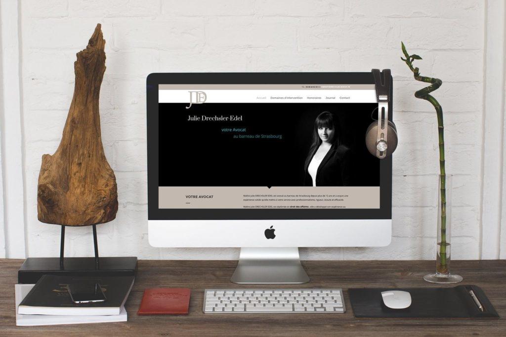 Site internet Julie Drechsler-Edel